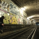 Waiting For Trains - Abandoned Metro Station Arsenal, Paris