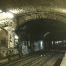 Shadow of a Station - Abandoned Metro Station Arsenal, Paris